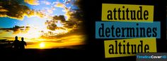 Attitude Determines Altitude Timeline Cover 850x315 Facebook Covers - Timeline Cover HD