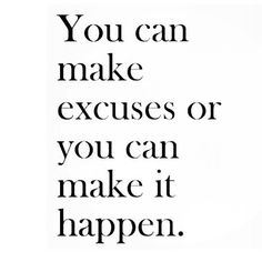 NO EXCUSES! MAKE IT HAPPEN ▶  The Best Motivation Video 2015 - EXCUSES - YouTube