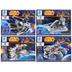 #starwars #mainanlego #bukalapak #mainananak #like4like #koleksimainan #bertoyindo #mainanedukasi Siapa yang gak kenal dengan Film Star Wars ? film fiksi ilmiah itu begitu terkenal yang menceritakan tentang peristiwa-peristiwa di sebuah galaksi, Mainan Lego Star Wars akan membawa imaginasi Anda membumbung dalam perjalanan ke luar angkasa, lengkap dengan Space Ship yaitu TIE Interceptor Space Ship, Star Destroyer Space Ship ,X-Wing Fighter Space Ship, Millenium Falcon Space Ship  dan 4…