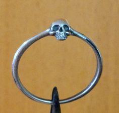 Etsy. Skull ring $41