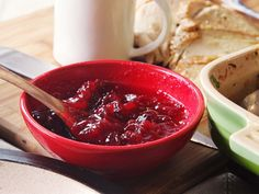 The World's Easiest Cranberry Sauce