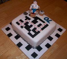 Image result for crossword cake