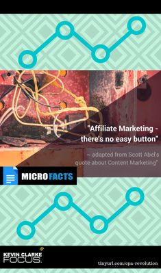 There are no easy buttons to press in affiliate marketing! Business Marketing, Content Marketing, Affiliate Marketing, Internet Marketing, Online Marketing, Online Business, Digital Marketing, Make Money Online, How To Make Money