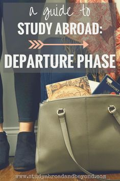 Are you ready for your study abroad departure? Better double check to make sure... | Study Abroad and Beyond