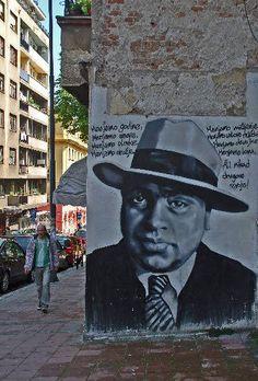 Al Capone street Kralja Petra,Belgrade,Serbia