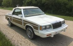 At $2,975, this LeBaron convertible is a potential bargain. Have any of you owned one? #Chrysler