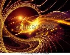 """Stock ilustrace """"Technology Space Series Abstract Arrangement Waves"""" 1043278828 Space Series, Waves, Neon Signs, Technology, Abstract, Illustration, Image, Tech, Summary"""