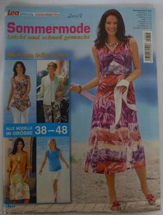 Vintage Pattern Magazine 'Lea Sommermode Summer 2008' in German   eBay