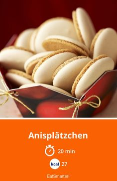 Anisplätzchen - smarter - Kalorien: 27 kcal - Zeit: 20 Min. | eatsmarter.de