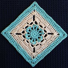 Ravelry: Lazy Daisy Granny Square pattern by Danyel Pink