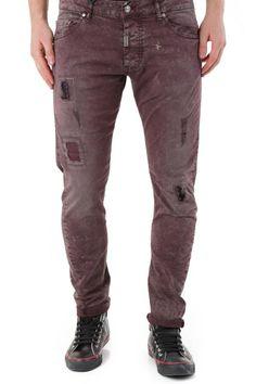 Pantaloni Uomo Absolut Joy (VI-P2597) colore Bordo