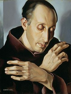 Tamara de Lempicka / Saint Anthony of Padua / Patron Saint of Lost Things