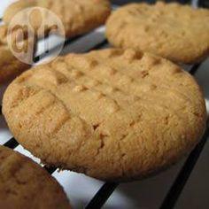 Pindakaas koekjes zonder meel @ allrecipes.nl
