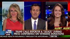 Donald Trump Calls Reporter SLEAZE! 5/31/16
