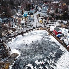 "Blue Canoe Cafe on Instagram: ""Winter weekends in Marblehead 💙🏒⠀ 📸: @dcmills89"""