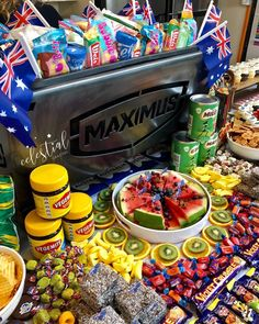 Birthday Bash, Birthday Parties, Australia Day Celebrations, Platter Board, Aus Day, Bubble, Aussie Food, Party Entertainment, Party Themes