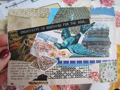 mail art by iHanna. #postcard