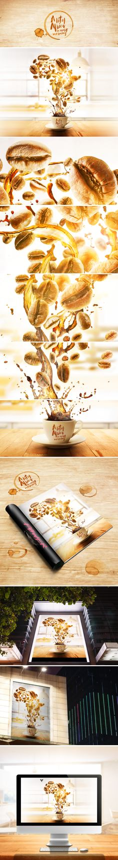A bit of Africa in every morning on Behance
