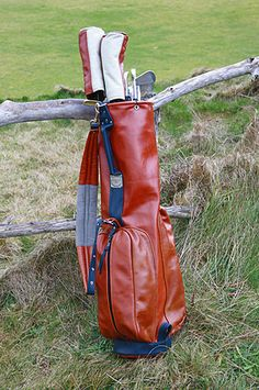 a little extreme for a golf bag but cool