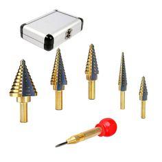 Aluminum Alloy 10pcs uxcell 5.6mm Twist Drill High Speed Steel Bit HSS-4241 for Steel