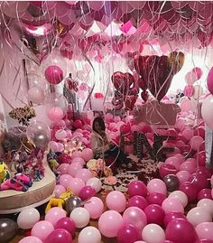 Balloons Pink And Surprise Image Girl Birthday 14th Bash