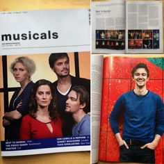 Family Goodman on the musicals magazine cover + Interview with Dirk Johnston!  www.next-to-normal.de