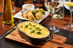 Receita de lasanha de berinjela e queijo brie (Foto: Marcelo Krelling/divulgação)