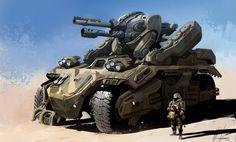 light tank concept - Buscar con Google
