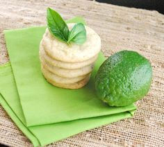 Looking for a signature cookie recipe? These Basil Lime Sugar Cookies are sugar cookies with a fresh herbaceous twist! Basil in cookies? Sugar Cookies Recipe, Cupcake Cookies, Cookie Recipes, Dessert Recipes, Dessert Ideas, Just Desserts, Delicious Desserts, Yummy Food, Biscuits