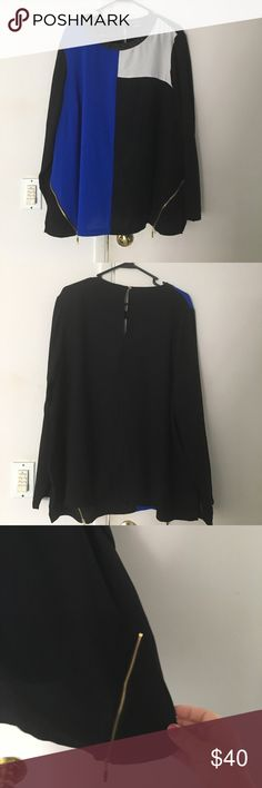 City Chic Blouse Worn twice-perfect condition. Great for work or a night out. City Chic size L=2x or 18/20. See attached size chart City Chic Tops Blouses