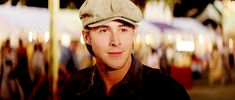 THE NOTEBOOK<3 I love how in the beginning of the movie he always wears cute little hats like this!    http://www.e4hats.com/hat-cap/newsboy-ivy/ivy-ascot.html