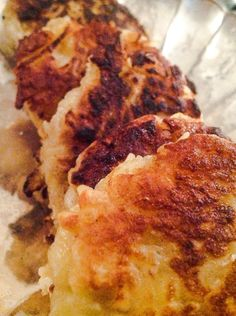 Irish Potato Pancakes -- can be made GF/Paleo, but is not LCHF!