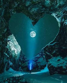 Valentine's Day Hearts inspired by nature photos) - Have Some Fun Moon Pictures, Nature Pictures, Pretty Pictures, Beautiful Moon, Beautiful World, Beautiful Places, Beautiful Scenery, Amazing Places, Beautiful People