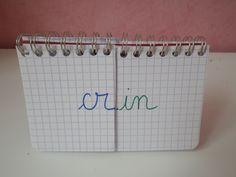 Carnet des syllabes CP, J'ai essayé cela avec un élève en difficulté, ce moyen d'apprendre les syllabes fait ses preuves!