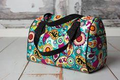 Blanche Barril Bolsa Patrón PDF de costura de Swoon + Filtros de coser de velcro