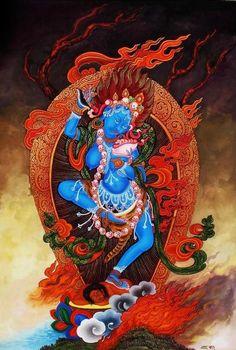 Nairatmya yogini, nepali paubha