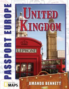 Pack up and get ready to travel to the United Kingdom with Amanda Bennett's new Passport Geography series!