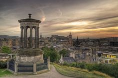 Calton Hill, Edinburgh, Scotland. I love Scotland