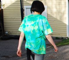 Tie Dye T-Shirt by FaireMiscellany on Etsy