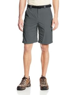 0f7bf06771 Columbia Men's Big-Tall Battle Ridge II Short: Rugged comfort combines with  technical performance on this utilitarian short with UPF 30 protection to  keep ...
