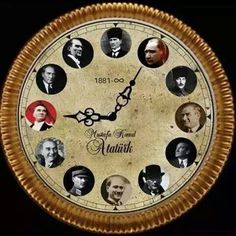 In memory of Mustafa Kemal Ataturk, Founder of the Turkish Republic (1881 - 1938) with deep respect and love.