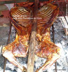 Cabrito al palo (Kid in the bottom) Roasted goat