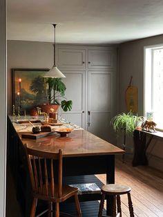 Indian Home Decor, Unique Home Decor, Cheap Home Decor, Devol Kitchens, Home Kitchens, Kitchen Interior, Kitchen Decor, Country Interior, Interior Plants