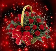 The perfect Basket Red Roses Animated GIF for your conversation. Discover and Share the best GIFs on Tenor. Roses Gif, Flowers Gif, All Flowers, Beautiful Bouquet Of Flowers, Beautiful Flowers Wallpapers, Beautiful Rose Flowers, Pretty Roses, Beautiful Love Pictures, Beautiful Gif