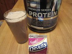 """Low Carb High Protein """"Chocolate Milk"""" Recipe"""