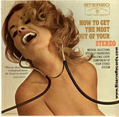 How to get the most out of your stereo....clearly ,she's figured it out!