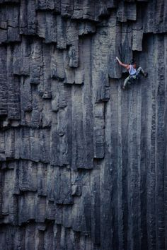 Nothing quite like the very small and immediate world around you when you are climbing. Awareness!