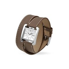 Michel Herbelin Bracelet Cuir, Michel, Watches, Taupe, Leather, Accessories, Products, Fashion, Classic
