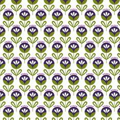 Pop Flora in Purple by Liz Ablashi