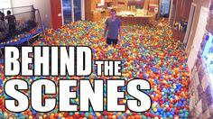 Plastic Ball Prank EXTRAS!! The behind the scenes.  Note: Do not buy that many plastic balls.